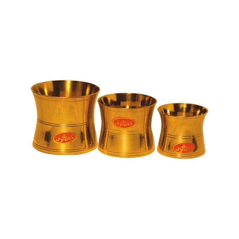 Brass Panch Patra Damru Bpd