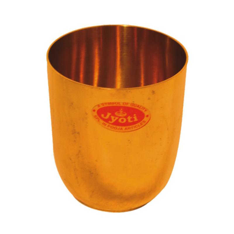 Brass Glass Spl Plain Bg